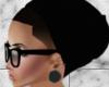 J* Black beanie