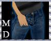 (MD)CasualJeans DarkBlue