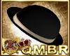 QMBR Hat Bowler Blk-Gld