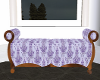 Victorian Damask Bench
