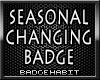 Seasonal Badge