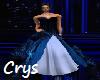 Blue Blizzard Gown