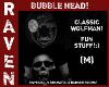 CLASSIC WOLFMAN BUBBLE!