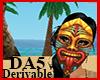 (A) Tiki Mask F