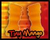 -TM- Orange Arm Warmers