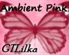 Ambient Pink Butterfly