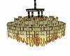 gold chandalier