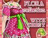 ! FLORA Pink DOLL Dress