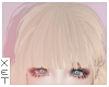 ✘ nilla bangs blonde