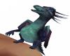 Aqua Dragon Shoulder Pet