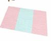 towel no pose pink/blue