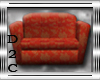 Red & Gold Couch