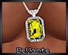 !D Citrine Necklace
