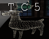 Deer lights deco