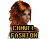 Fire redhead ponytail