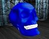 ATS~Blue Skull Wht Teeth