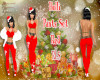 Holli Red Pants Set RLS