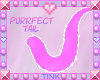 Purrfect | Pink Tail