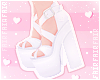F. Lovely Heels White