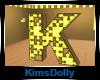 *KD* Bee Room Letter K