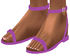 Purple Riyna Sandals
