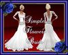Simple Flowers bride