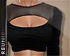 R cut out mesh top}black