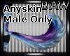 B! M Anyskin Pluff Tail