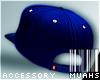 M! Tilted Snapback -Blue