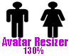 Avatar Resizer 130%