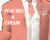 Peaches  & Cream  Suit