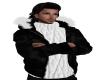 Winter Jacket B/W