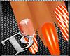 T9:Slushy Orange Nails 1