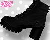 |bc| Black vegan boots