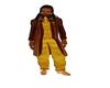suit jacket golden brown