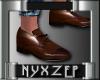 No Socks Mens Shoe Brown