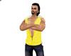 [IJ] Yellow Hoody Jacket