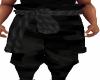 Black Camo Ninja Pants