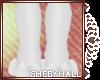 [SH] White F Paws