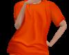 Orange Prisoner Top