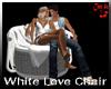 White Love Chair animate