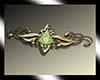 green celtic crown