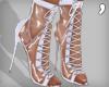 , Laced Plastic Heels V2