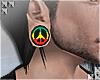 rasta peace plugs /m