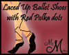 MM~Ballet Slippers(laced