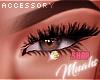 M! Golden Eye Studs
