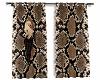 Snakeprint Curtains