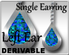 Single Opal Earring