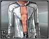 Metallic Silver Jacket