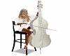 White anim Cello
